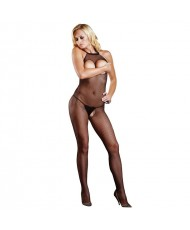 Leg Avenue Open Crotch and Bust Fishnet Bodystocking