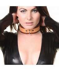 House Of Eros Superior Brown And Tan Collar