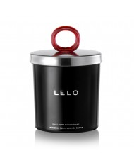 Lelo Black Pepper And Pomegranate Flickering Touch Massage Candl